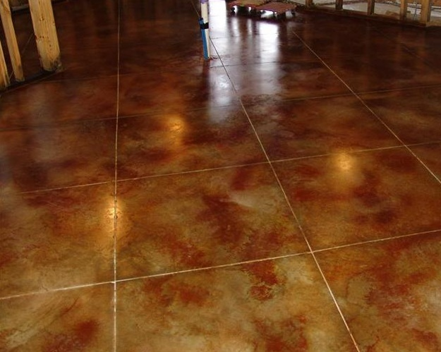Stamped Concrete Indoor Floors : Interior concrete floors st paul minneapolis mn acid